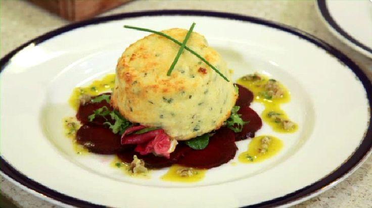 The true classic goat's cheese soufflé recipe, a delicious starter ...