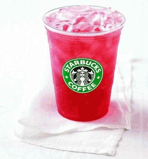 Passion fruit lemonade iced tea from Starbucks it's amazing you need ...