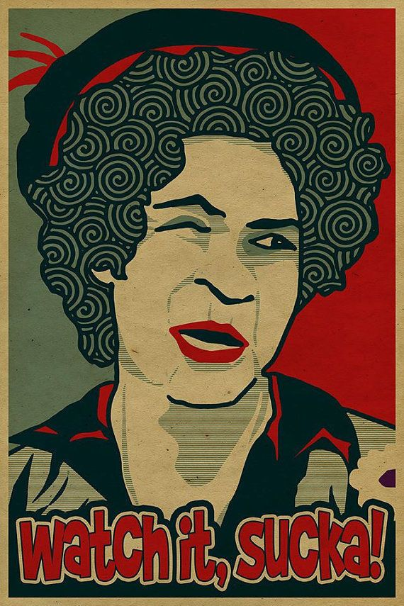 Press style print a tribute to lawanda page as sanford and son s aunt