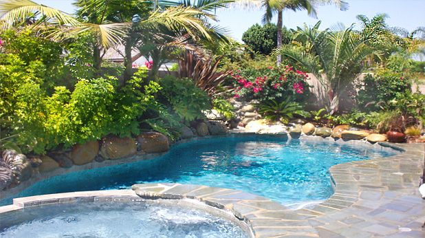 Landscape Pool Ideas (bestloftbeds.org)- love this pool! The aqua blue is pretty and I love the shape.