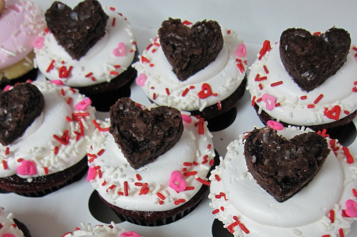 Sweetheart Cupcakes | Cupcakes!!! | Pinterest