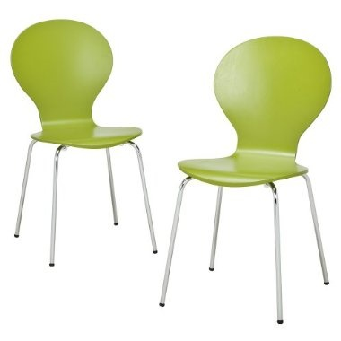 Lime Green Plastic Chairs Color Green Pinterest