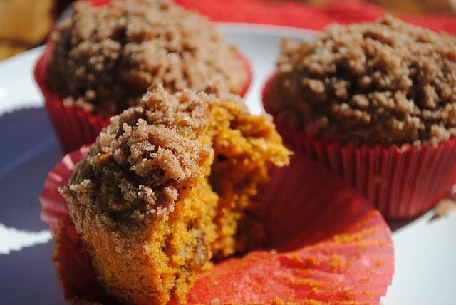 Olive Oil Pumpkin Muffins | good eats | Pinterest