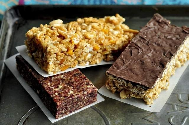 ... Snack Bars; and Crunchy Peanut Butter and Chocolate Granola Bars