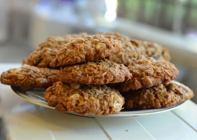Oatmeal Coconut & White Chocolate Cookies | Luci's Morsels - DailyBuz...