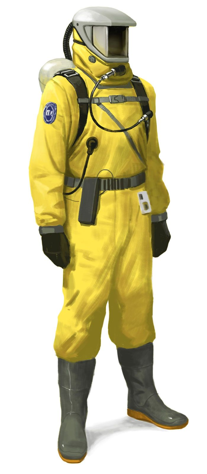 biohazard suit adult costume