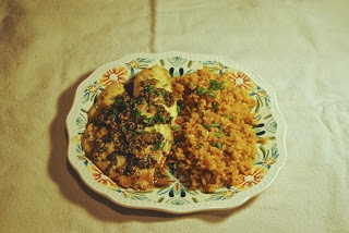 Ginger and Cilantro Baked Tilapia | Dinner Dishes | Pinterest