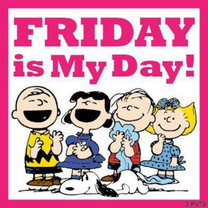Friday | Peanuts....Charlie Brown | Pinterest