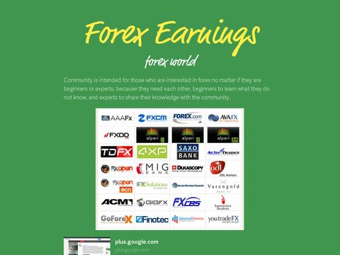 Forex earnings potential