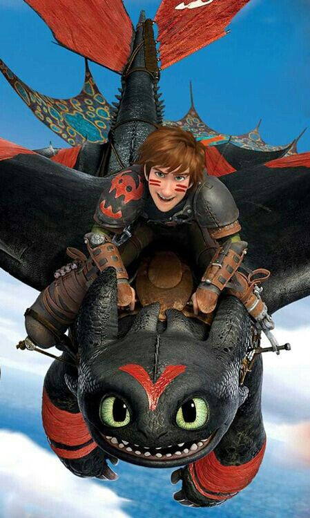 How to Train Your Dragon 2 - Hiccup and Toothless