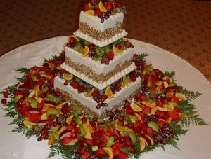 Cake With Fruit Layers : Layered Fruit Cake CREATIVE CAKES & EDIBLE ARRANGEMENTS ...