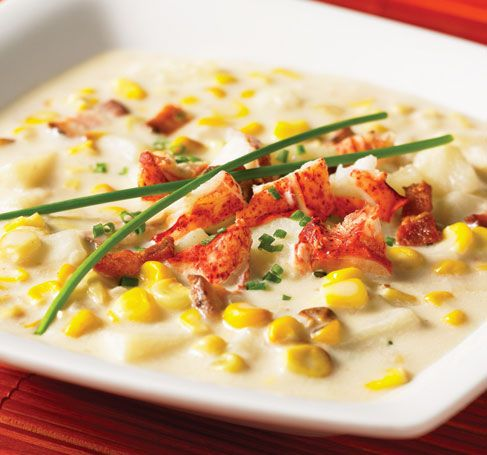 Lobster & corn chowder - recipe does not list stock. I used 4 c ...