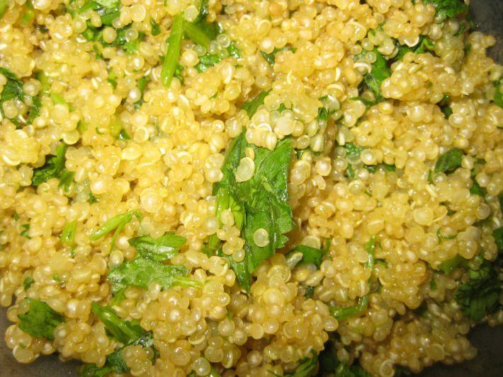 Cilantro lime quinoa | Favorite Recipes | Pinterest