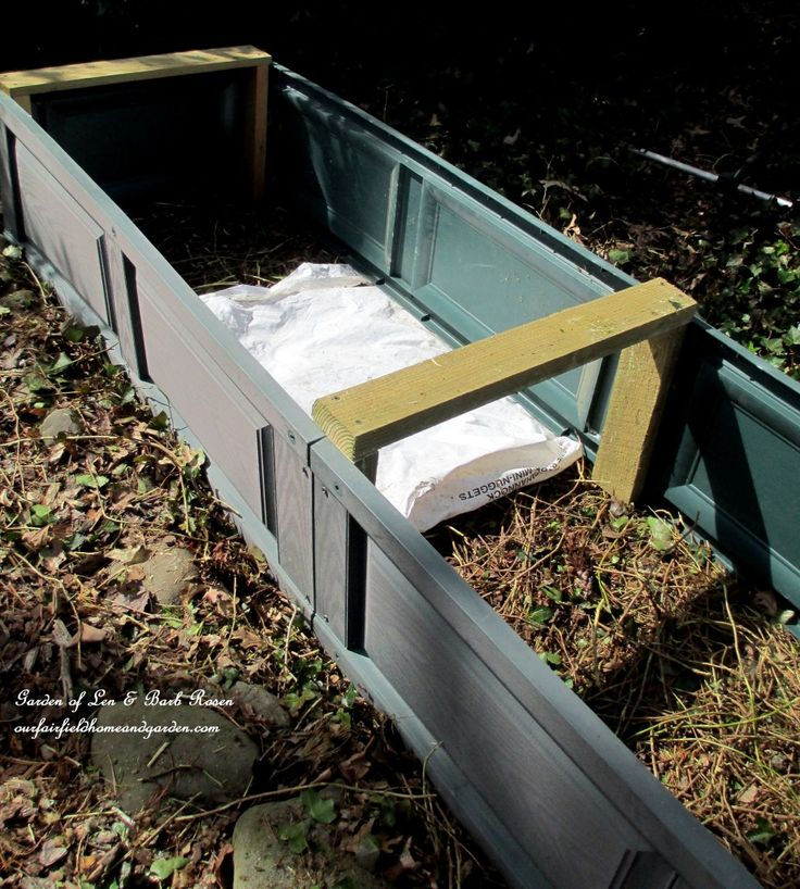 Diy Project Raised Beds For Free Our Fairfield Home