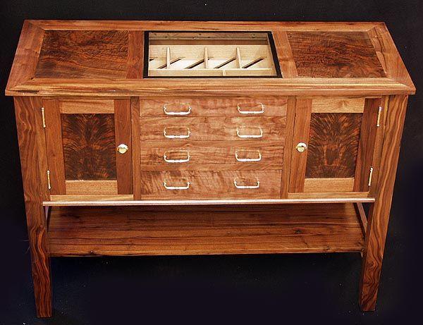 Humidor Table Cigars Pinterest