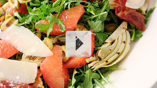 Grapefruit and Grilled Fennel Salad | Recipes: Soup and Salad | Pinte ...