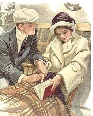 Women Reading - thomerama: Harrison Fisher