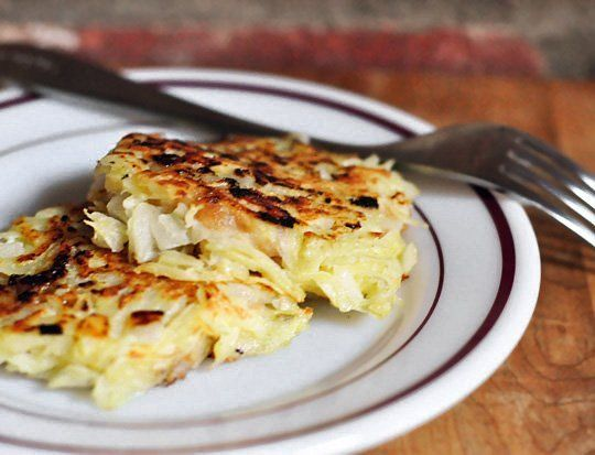 Hanukkah Recipe: Apple and Cheese-Stuffed Latkes
