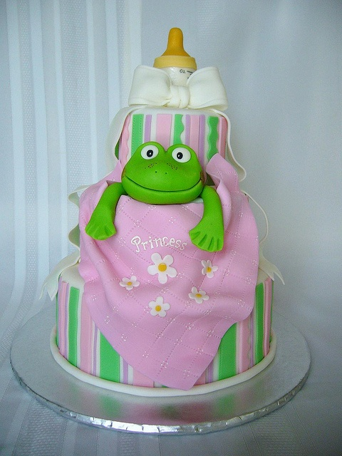 baby shower frog princess cake baby shower cakes pinterest
