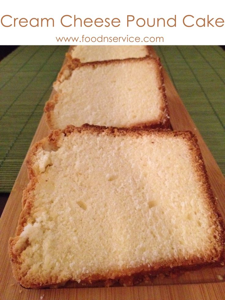 Cream Cheese Pound Cake Recipe | Yummmm | Pinterest