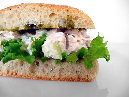 Italian Chicken Salad Sandwich- Too much celery otherwise delicious! I ...