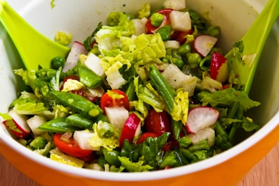 SBD: Mixed Veggie Salad | South Beach Diet (no Carb) | Pinterest