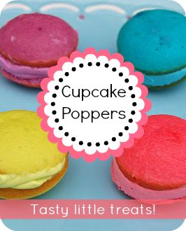 Cupcake Poppers | Food/paarty | Pinterest