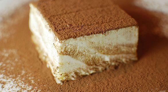 Tiramisu Ice Cream Cake | Recipe
