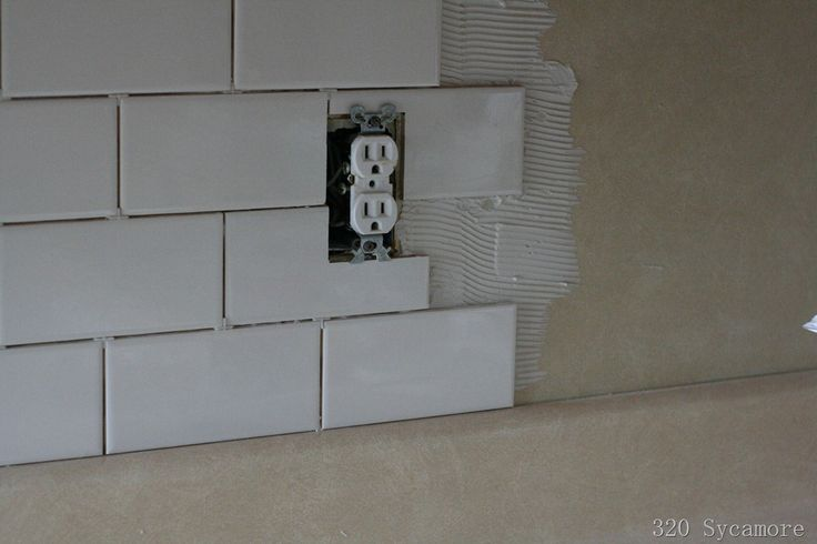 How to install subway tile diy ideas pinterest How to put tile on wall in the kitchen