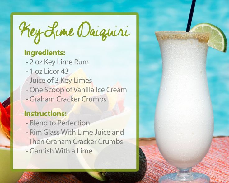 Key Lime Daiquiri from Parrot Key Hotel and Resort in Key West