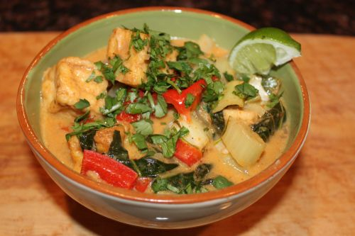 Panang Curry | Chicken Recipes | Pinterest