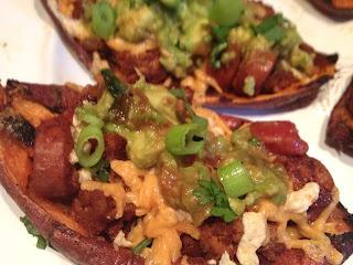 More like this: potato skins , nachos and chilis .