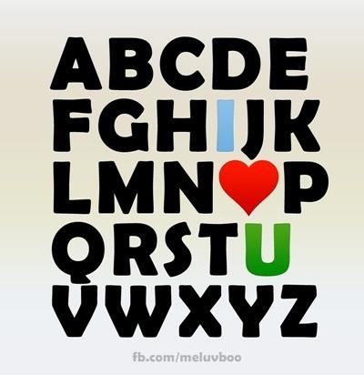 u alphabet wallpaper  Uploaded to Pinterest