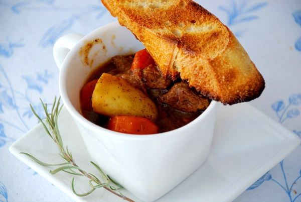 Stout Rosemary Beef Stew | Food is Good | Pinterest