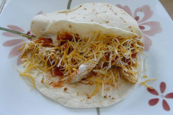Slow Cooker Chicken Tacos | Food | Pinterest