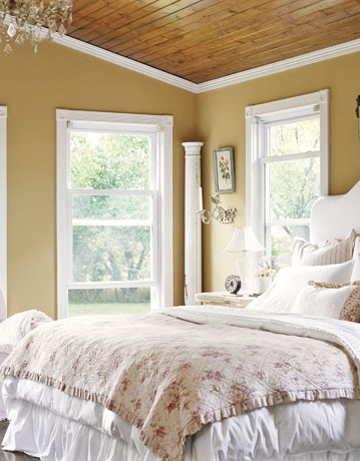 Farmhouse Bedroom Love The Wall Color Master Redo Pinterest