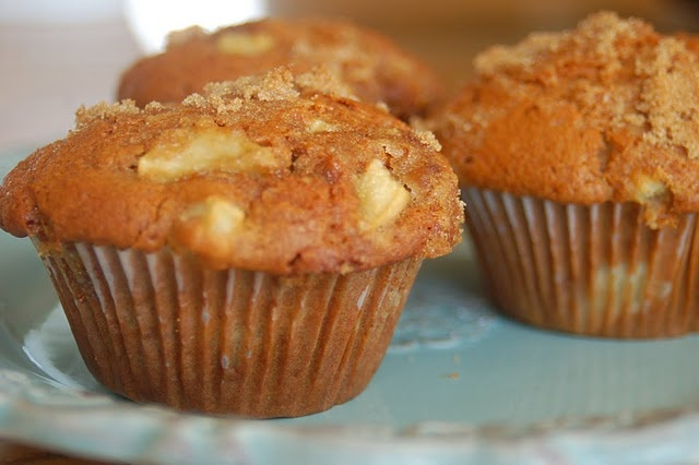 Whole wheat apple muffins - could sub. flax seed for the egg to make ...