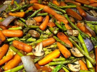 Balsamic Chicken with Roasted Vegetables + Kids in the Kitchen Link Up ...