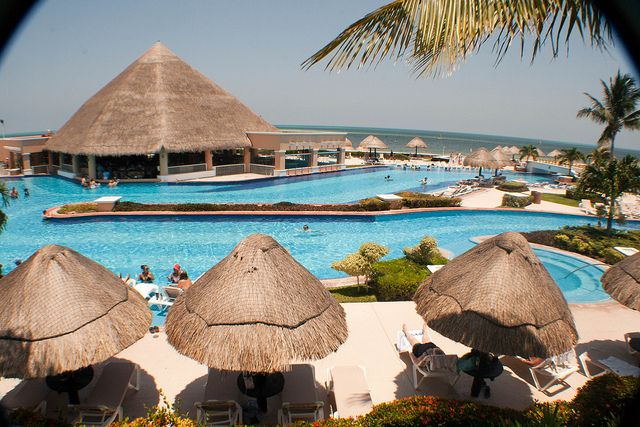 Moon Palace Resort pool, Cancun, Mexico | Travel | Pinterest