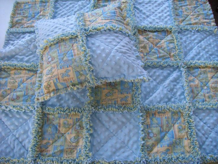 Rag Quilt Animal Patterns : Baby Animal Rag Quilt Quilts Pinterest