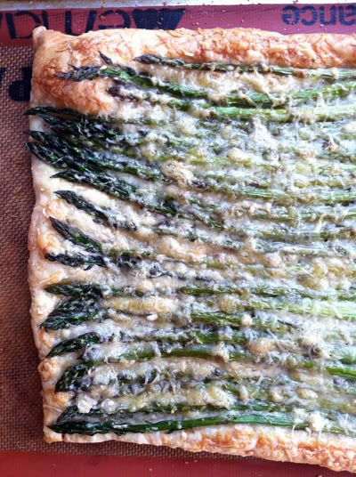 Asparagus, Gruyere and Parmesan Tart | Recipes | Pinterest