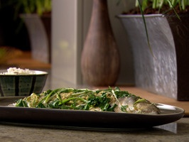 Steamed Sea Bass in Hot Beer and Ginger Lime sauce | Recipe