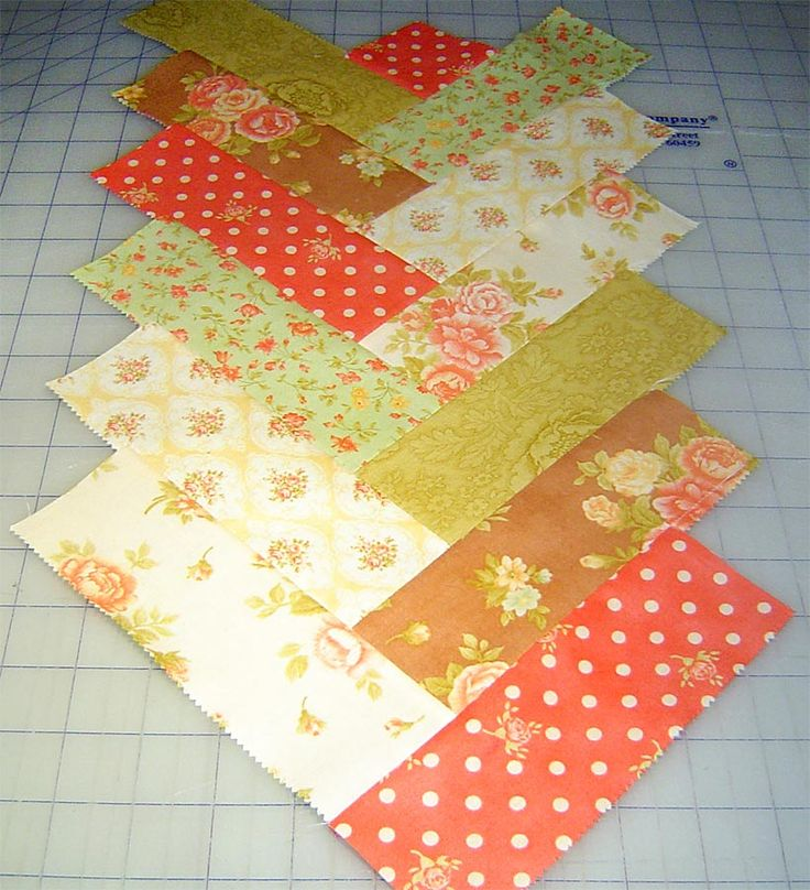 French Braid Quilt Pattern Using Jelly Roll : Friendship Braid Tutorial table toppers Pinterest
