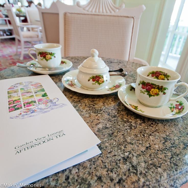 Afternoon tea at disney s grand floridian resort