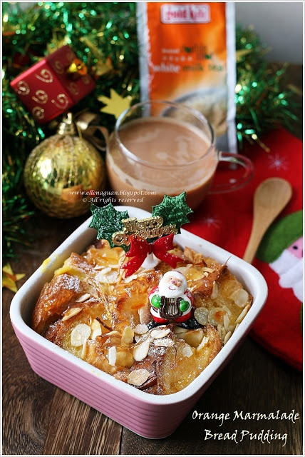 Orange Marmalade Bread Pudding | Holiday Drink/Food Fun | Pinterest