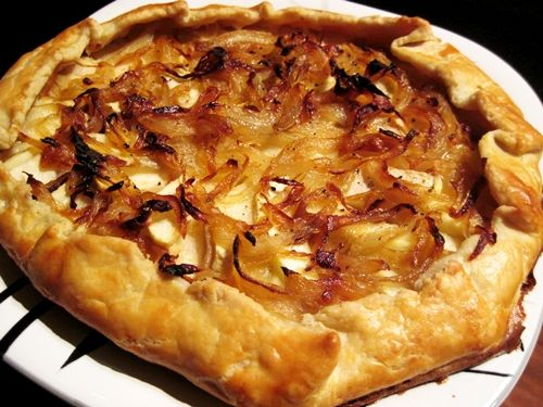 apple onion cheddar #tart #recipes | Recipes | Pinterest