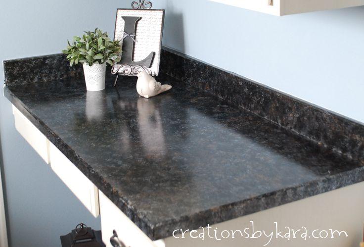 Where To Buy Countertops : DIY faux granite countertops! Buy complete kit at www.gianagranite.com
