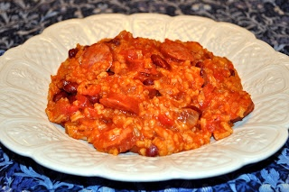 CookingwithSweetface: Semi Homemade Red Beans and Rice