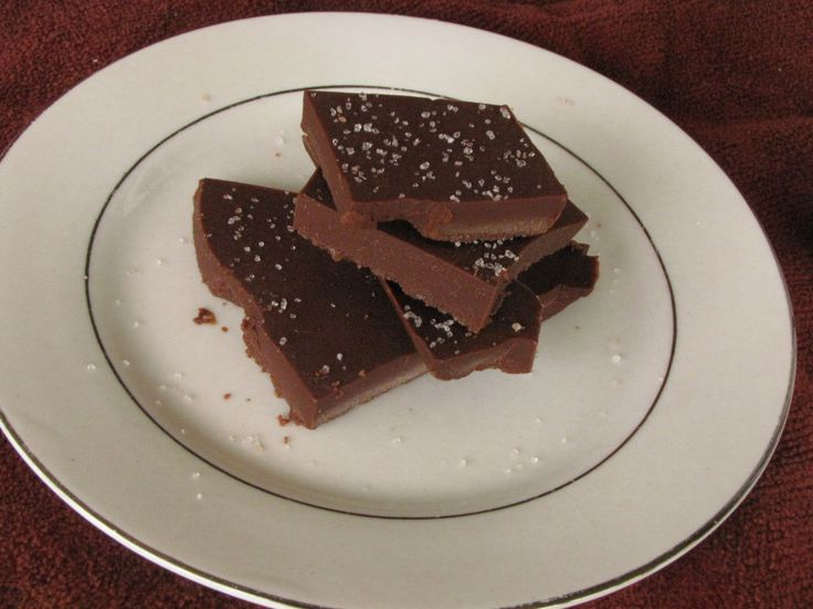salted caramel fudge | fudge | Pinterest