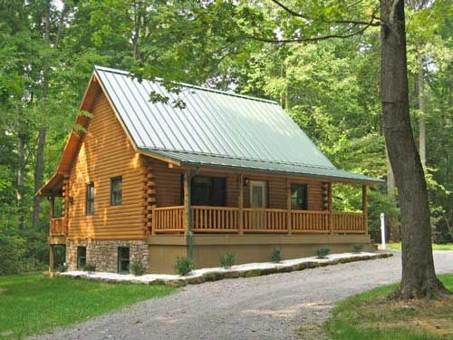 Simple design log cabin cabins and rustic decor pinterest for Basic log cabin plans